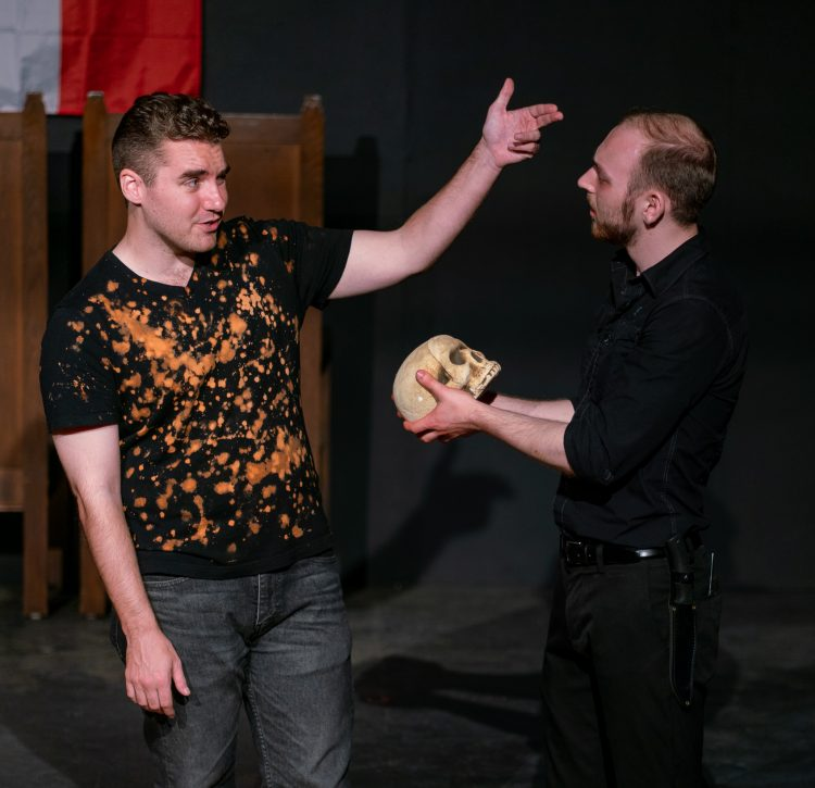 Hamlet and Horatio