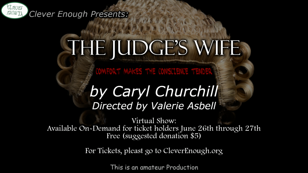 poster for the judge's wife